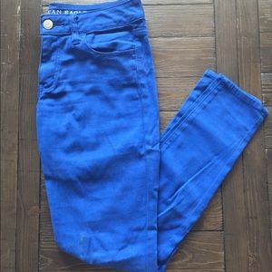 Size 4 Sapphire Blue Jeggings